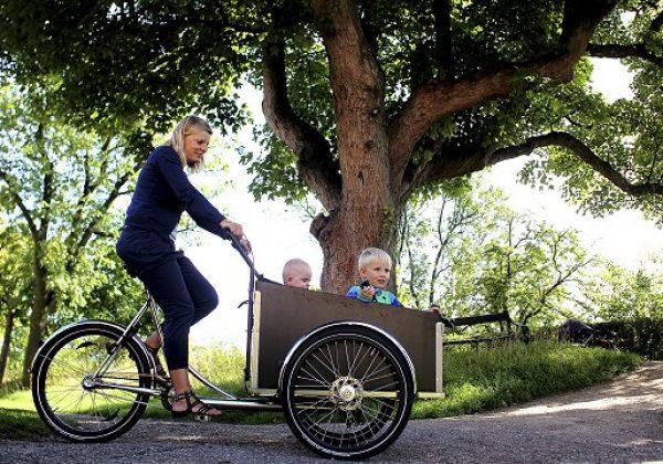 Lej en Christiania familiecykel